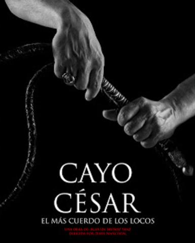 Cartel de la obra Cayo Cesar
