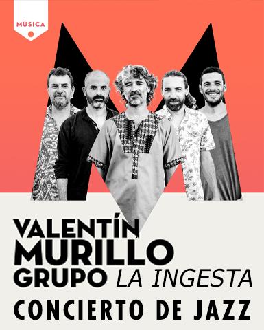 Concierto de jazz del grupo La Ingesta de Valentín Murillo